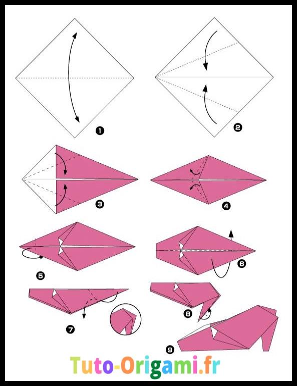 Chaussure à talon tutoriel facile et gratuit à faire en papier
