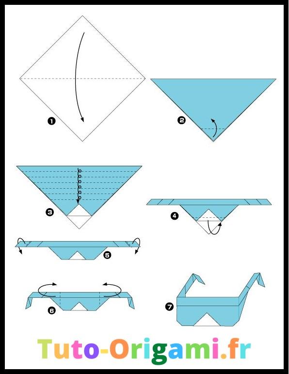 Tutoriel pour faire des lunettes en origami