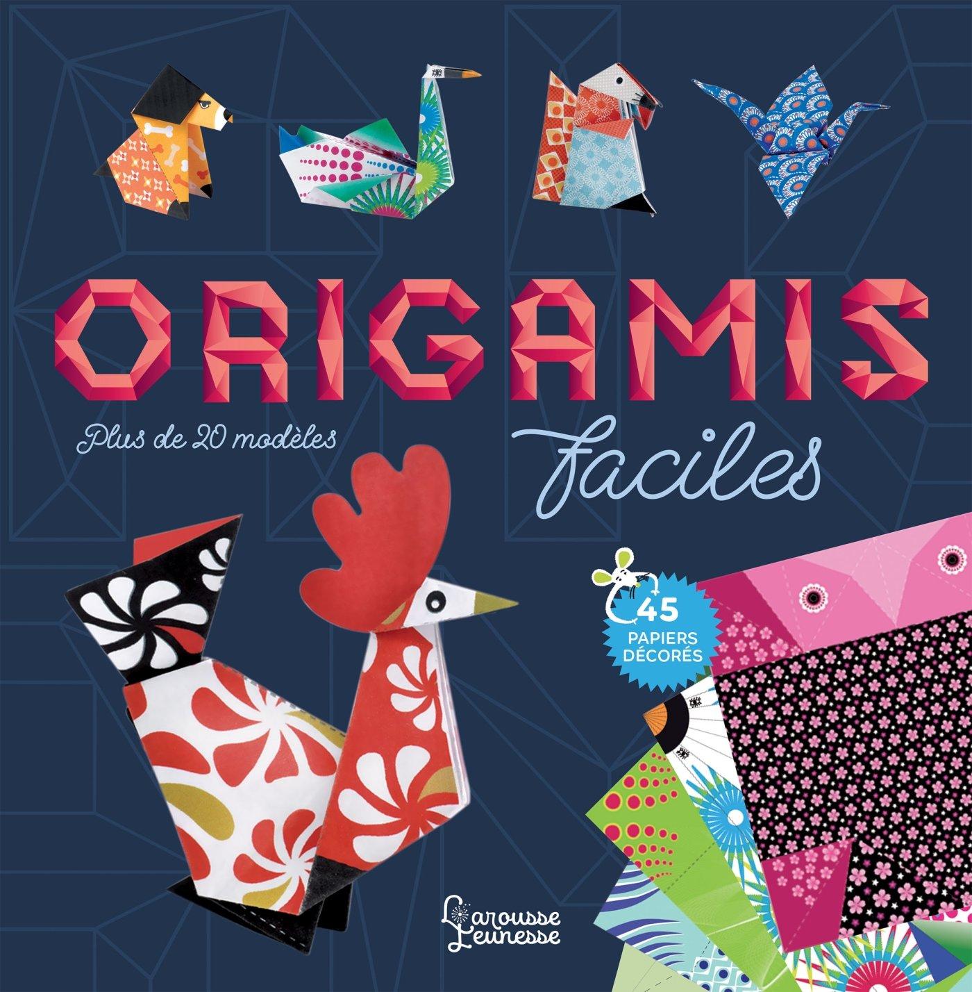 Livres origami pas cher facile